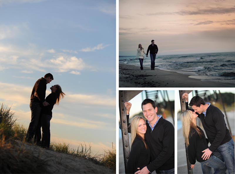 Engagement Pictures at the Grand Haven Pier
