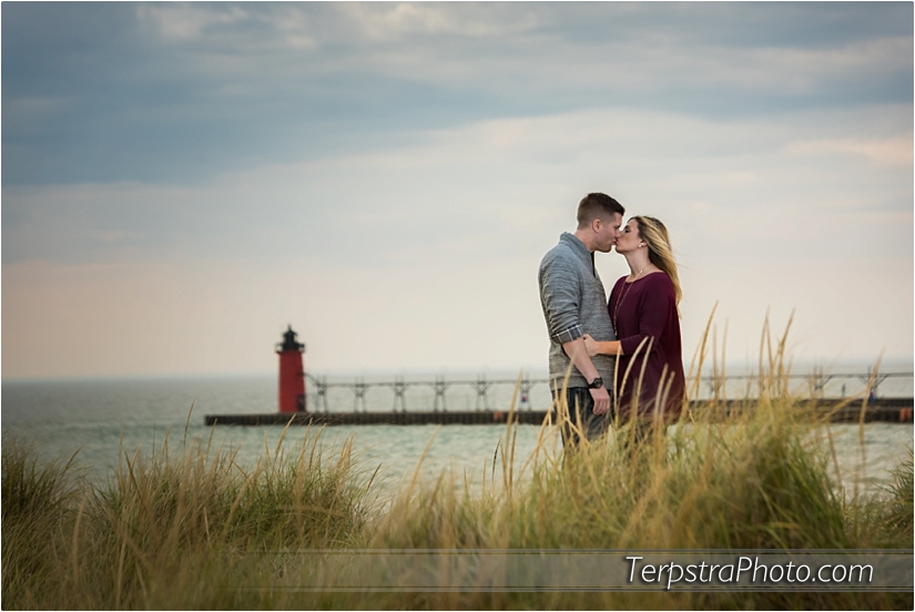 South Haven Engagement Photos