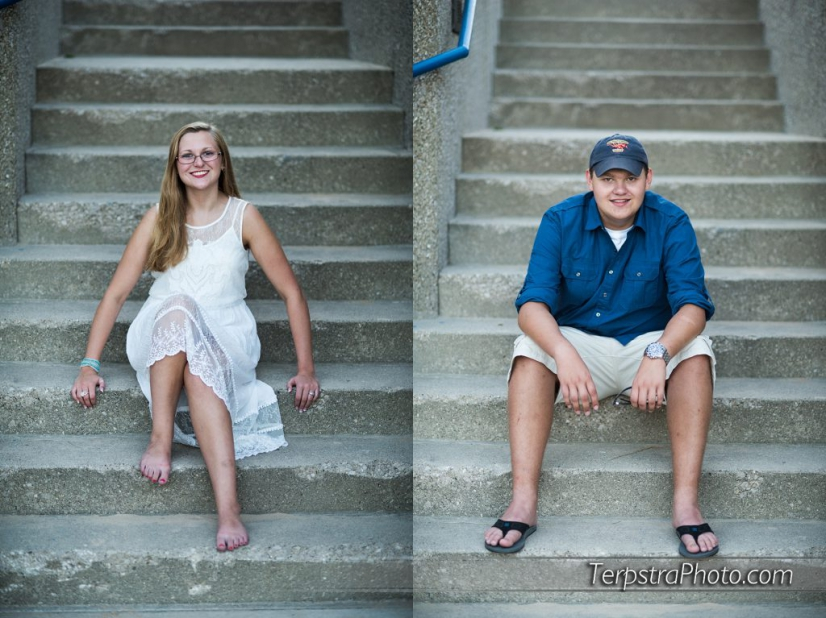Sibling Senior Photography